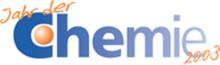 Logo Jahr der Chemie